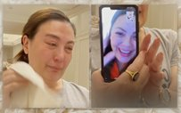 Sharon Cuneta's video call with daughter KC Concepcion turns emotional