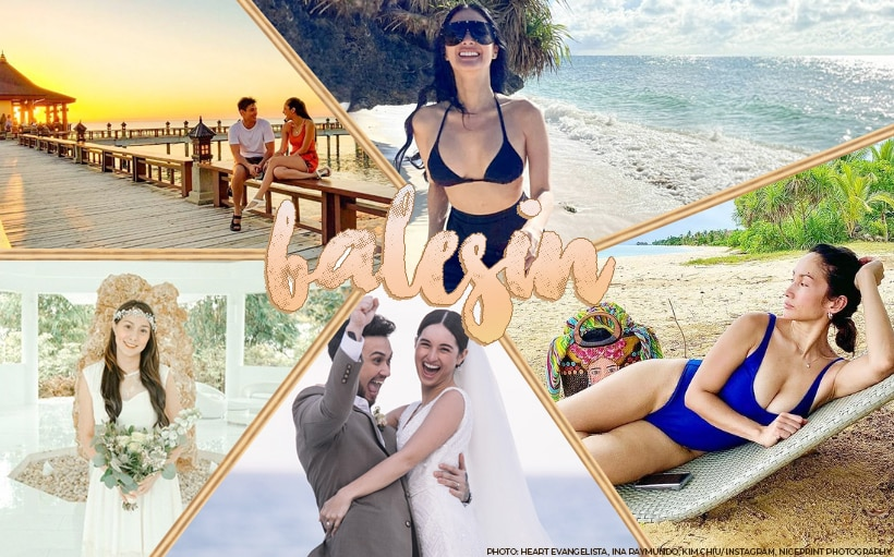 14 celebrities and their envy-worthy Balesin photos