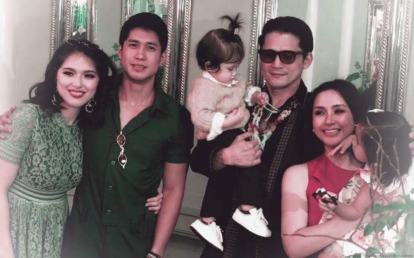 Robin Padilla was the perfect grandpa during Alas' 1st birthday party!