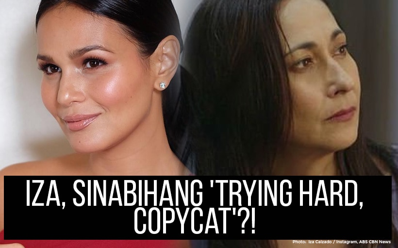 Iza, sinabihang 'trying hard, copycat'?!