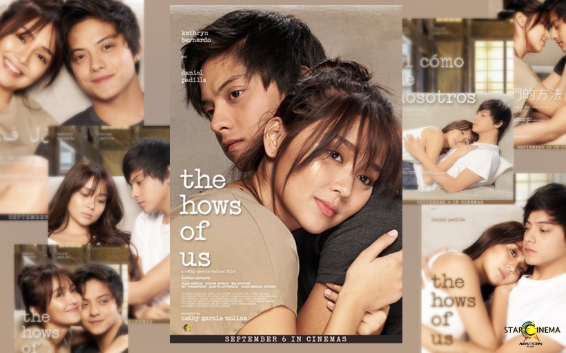 Choose 1, choose all? Which 'The Hows of Us' poster is your favorite?