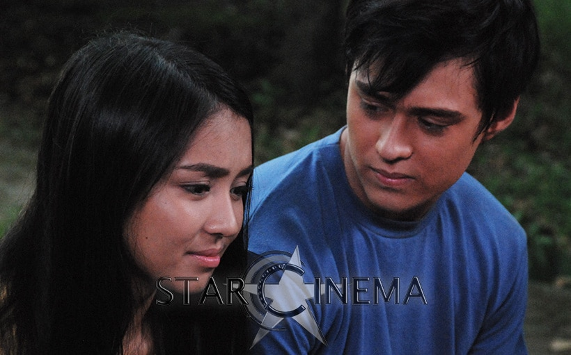 Kathryn and Enrique as Anna and Michael.