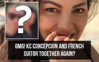 OMG! KC Concepcion and French suitor together again?!