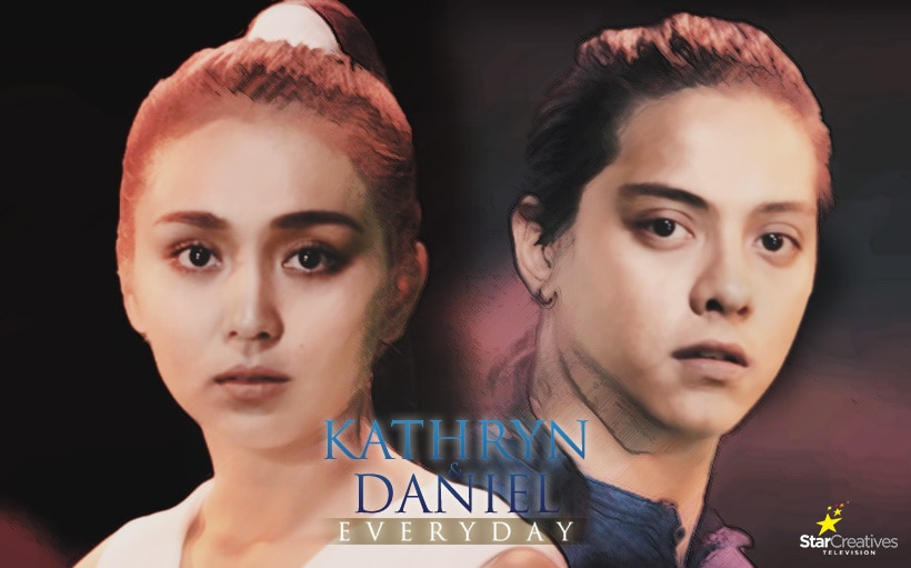 Kathryn & Daniel Everyday: The all-consuming excitement of Kathryn and Daniel's first fight scene