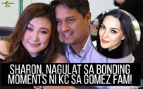 Sharon, nagulat sa bonding moments ni KC sa Gomez fam!