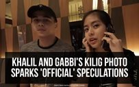 Khalil and Gabbi's kilig photo sparks 'official' speculations