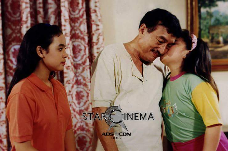 Dolphy and Claudine with Maybelline Dela Cruz