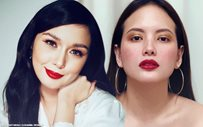 LOOK: Ellen Adarna's adorable 'ninang moment' with Beauty Gonzalez' daughter!