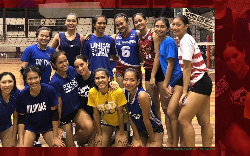 LOOK: Juliana Gomez joins UP Lady Fighting Maroons!