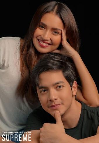 Kathryn and Alden for Philippine Star Supreme