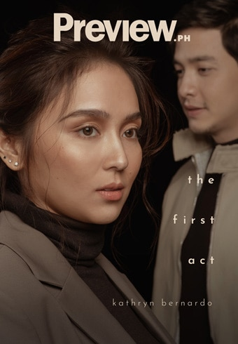 Kathryn and Alden for Preview