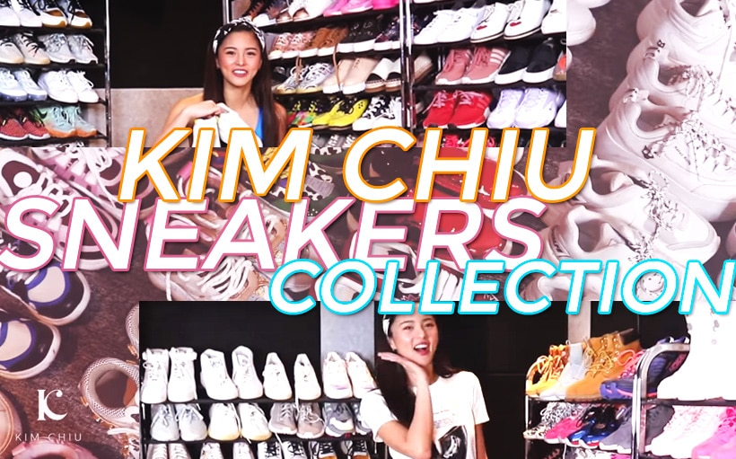 LOOK: Kim Chiu shows off her massive sneaker collection!