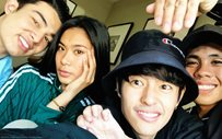 LOOK: Team LAYF's first photo together after the 'PBB Otso' Big Night!