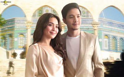 LOOK: Kathryn, Alden grace the 'Hello, Love, Goodbye' Dubai Presscon!
