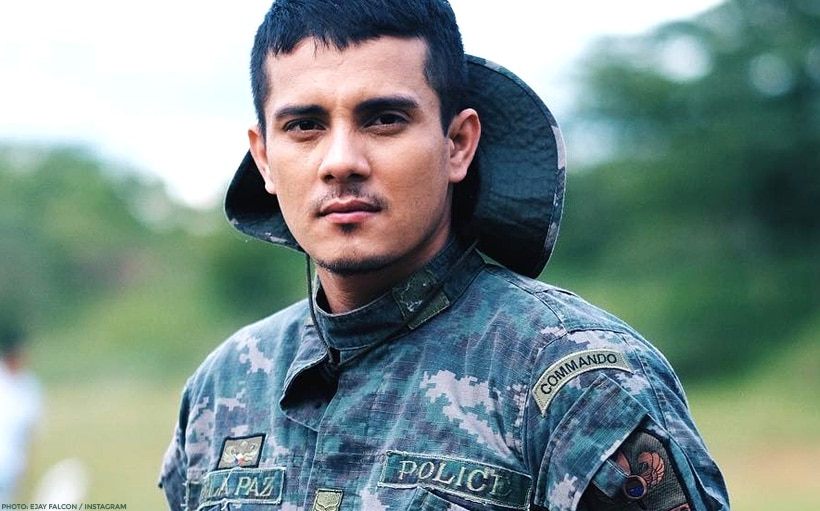 Ejay Falcon joins the Philippine Air Force