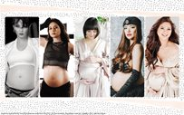 IN PHOTOS: Creative celebrity maternity shoots released during the quarantine!