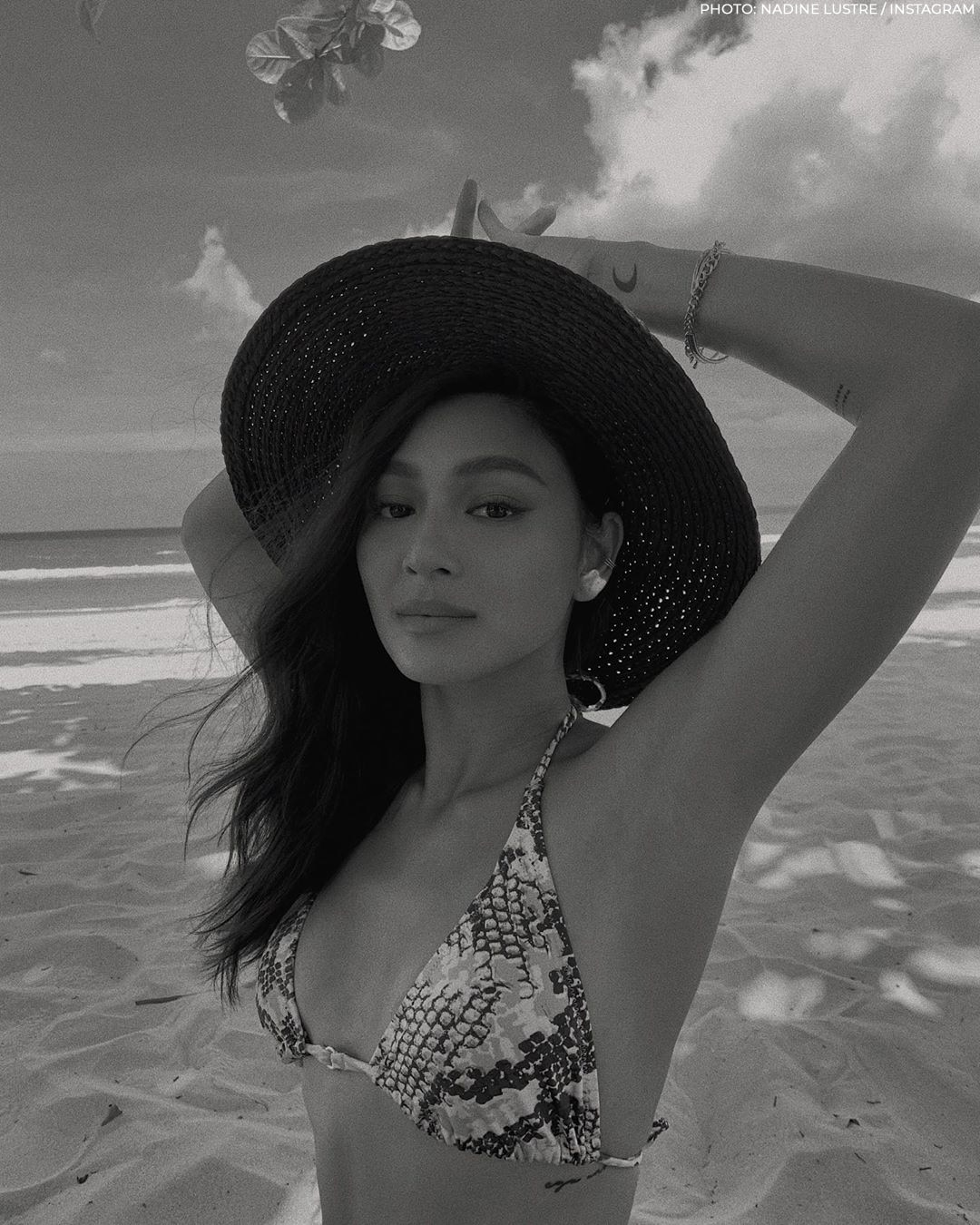All the times Nadine Lustre sizzled in a swimsuit!