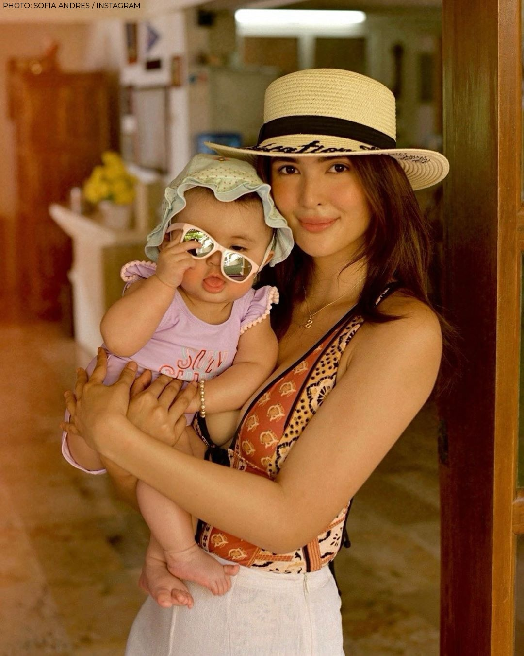 Sofia Andres' adorable moments with Baby Zoe!