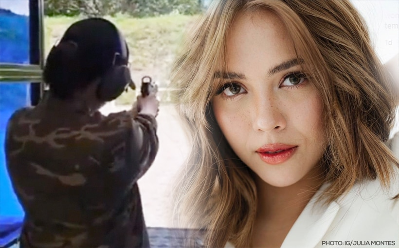 WATCH: Julia Montes shows off amazing shooting skills in new video