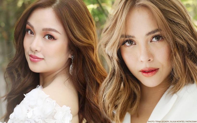 LOOK: Julia Montes is a bridesmaid for Trina Legaspi's wedding