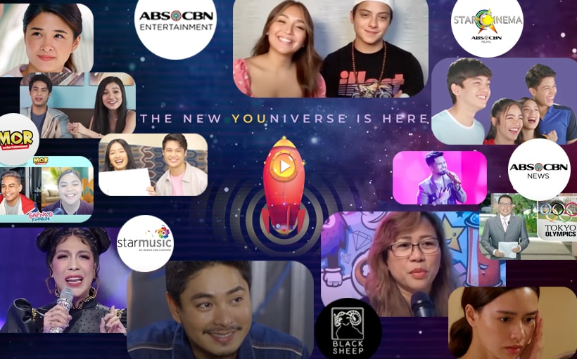 All-new #KapamilyaYOUniverse offers fresh, new content to Filipinos online