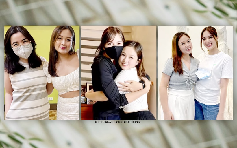 WATCH: Scenes from Trina Legaspi's reunion with Julia Montes, Michelle Vito, and Angeli Gonzales