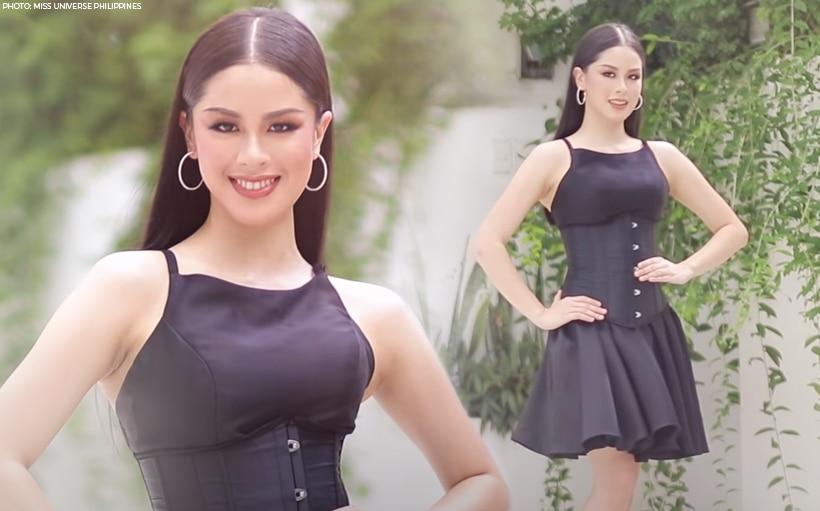 WATCH: Kisses Delavin slays in Miss Universe Philippines' runway challenge