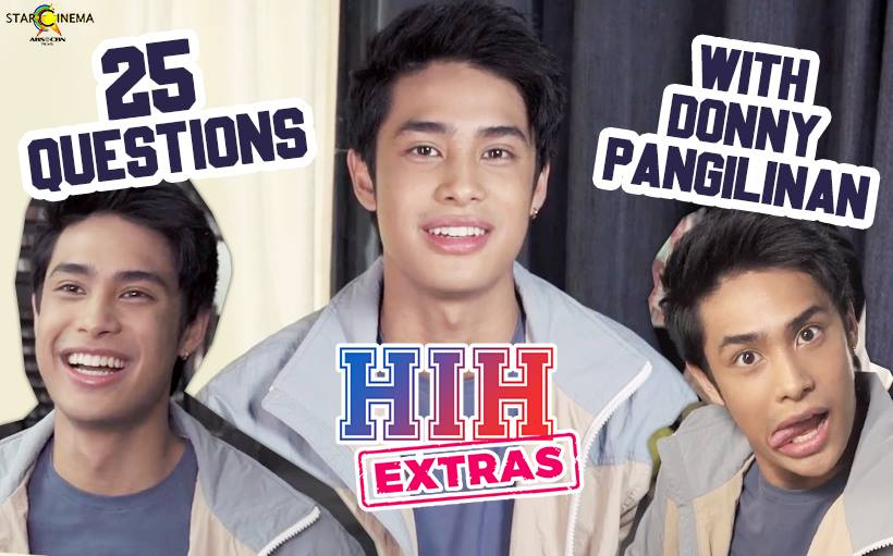 WATCH: Donny Pangilinan says he falls in love 'slowly but surely'