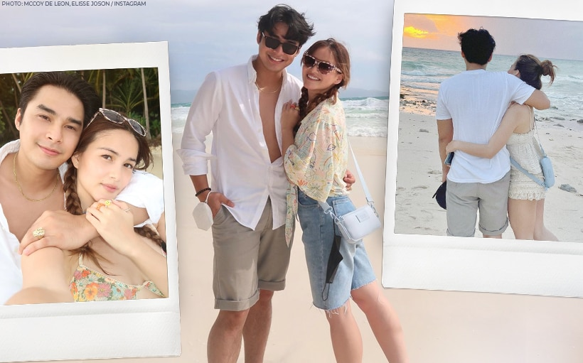 WATCH: McCoy and Elisse's chill Boracay trip