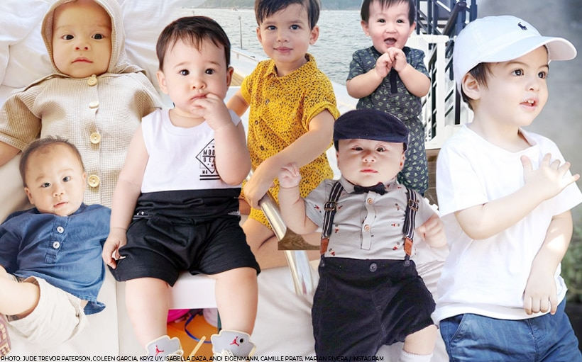 PHOTOS: The cutest OOTDs of these celebrity baby boys