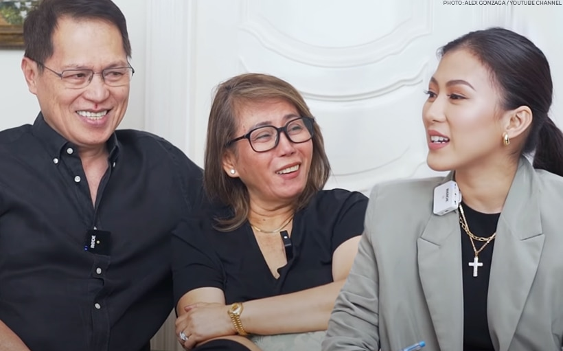WATCH: Alex Gonzaga grills parents about their marriage, raising two daughters
