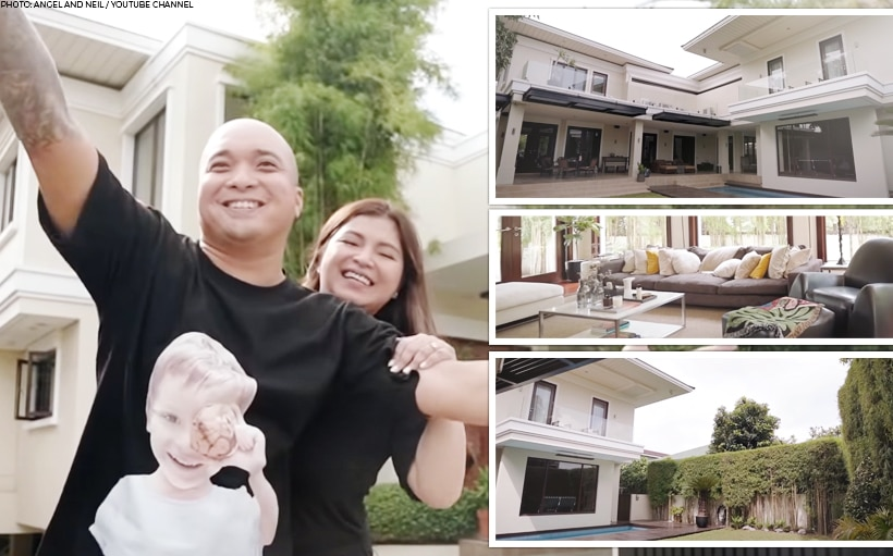 WATCH: Angel Locsin, Neil Arce give tour of their new home