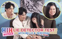 WATCH: Belle Mariano, Jeremiah Lisbo take the lie detector test