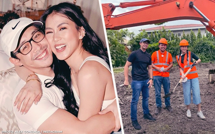 Alex Gonzaga breaks ground on future home with Mikee Morada