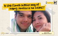 Is this Elmo's subtle way of saying Janella is his 'HOME?'