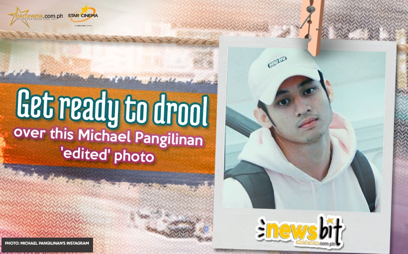 Get ready to drool over this Michael Pangilinan 'edited' photo