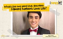 What's the one word that describes Edward Barber's love life?