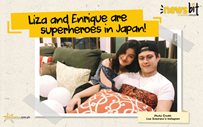 Liza and Enrique are superheroes in Japan!