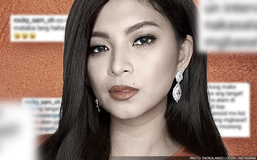 Angel Locsin fights back from 'offensive' online insults