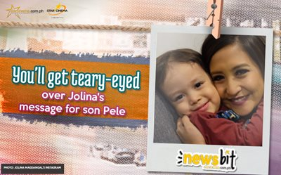 You'll get teary-eyed over Jolina's message for son Pele