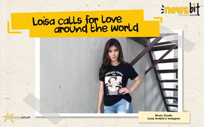 Loisa calls for love around the world