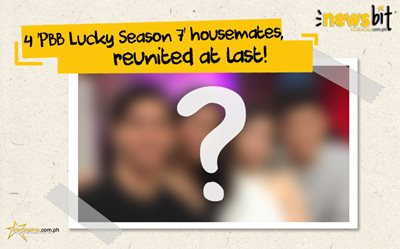 4 'PBB Lucky Season 7' housemates, reunited at last!