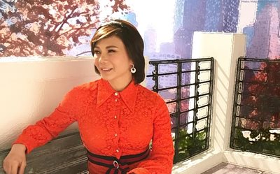 Vicki Belo gives us a sneak peek of her wedding gown