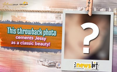 This throwback photo cements Jessy as a classic beauty!