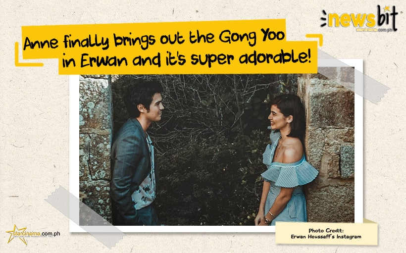 Anne finally brings out the Gong Yoo in Erwan and it's super adorable!