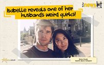 Isabelle reveals one of her husband's weird quirks!