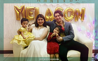 Melai, Jason celebrate wedding anniversary like royalties