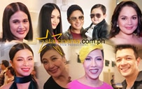The who's who backstage at the 'Just Love' ABS-CBN Christmas Special