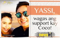 YASSI, wagas ang support kay Coco!
