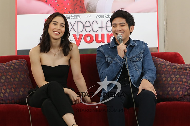 Joshua and Julia at 'Unexpectedly Yours' digicon 4